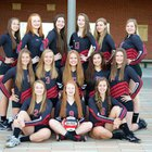 Snohomish Panthers Girls Varsity Volleyball Fall 17-18 team photo.