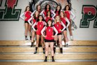 Smoky Hill Buffaloes Girls Varsity Volleyball Fall 17-18 team photo.