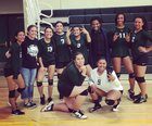 James Lick Comets Girls Varsity Volleyball Fall 17-18 team photo.
