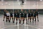 Dartmouth Indians Girls Varsity Volleyball Fall 17-18 team photo.