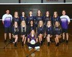 Lake Stevens Vikings Girls Varsity Volleyball Fall 17-18 team photo.