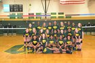 Conway Tigers Girls Varsity Volleyball Fall 17-18 team photo.