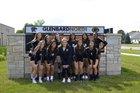 Glenbard North Panthers Girls Varsity Volleyball Fall 17-18 team photo.