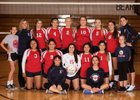 Brewster Bears Girls Varsity Volleyball Fall 17-18 team photo.