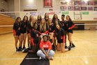 Hillcrest Rams Girls Varsity Volleyball Fall 17-18 team photo.