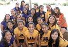 Holy Family Gaels Girls Varsity Volleyball Fall 17-18 team photo.