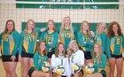 West Davidson Dragons Girls Varsity Volleyball Fall 17-18 team photo.