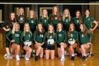 De Soto Wildcats Girls Varsity Volleyball Fall 17-18 team photo.