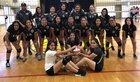 Burton Scorpions  Girls Varsity Volleyball Fall 17-18 team photo.