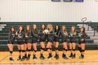 Little Rock Christian Academy Warriors Girls Varsity Volleyball Fall 17-18 team photo.