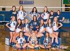 Naches Valley Rangers Girls Varsity Volleyball Fall 17-18 team photo.