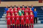 Roncalli Rebels Boys Varsity Soccer Fall 19-20 team photo.