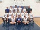 Bismarck Lions Boys Varsity Basketball Winter 17-18 team photo.