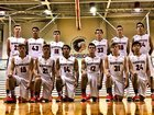 Pensacola Christian Academy Warriors Boys Varsity Basketball Winter 17-18 team photo.