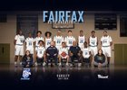 Fairfax Stampede Boys Varsity Basketball Winter 17-18 team photo.