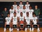 Episcopal Wildcats Boys Varsity Basketball Winter 17-18 team photo.