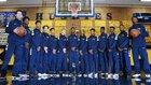 JW North Huskies Boys Varsity Basketball Winter 17-18 team photo.