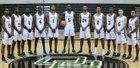 Oak Ridge Pioneers Boys Varsity Basketball Winter 17-18 team photo.