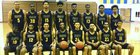 Simeon Wolverines Boys Varsity Basketball Winter 17-18 team photo.