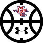 Midland Christian Mustangs Boys Varsity Basketball Winter 17-18 team photo.