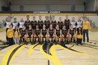Cottonwood Colts Boys Varsity Basketball Winter 17-18 team photo.