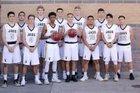 Windsor Jaguars Boys Varsity Basketball Winter 17-18 team photo.