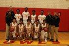 Olmsted Owls Boys Varsity Basketball Winter 17-18 team photo.