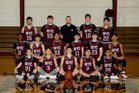 Western Yell County Wolverines Boys Varsity Basketball Winter 17-18 team photo.