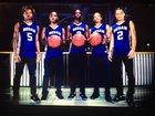 Redan Raiders Boys Varsity Basketball Winter 17-18 team photo.