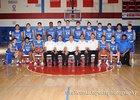 West Mesa Mustangs Boys Varsity Basketball Winter 17-18 team photo.
