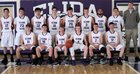 Elida Tigers Boys Varsity Basketball Winter 17-18 team photo.