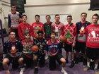 Santana Sultans Boys Varsity Basketball Winter 17-18 team photo.
