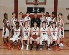 Blevins Hornets Boys Varsity Basketball Winter 17-18 team photo.