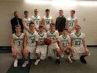 North Warren Central Cougars Boys Varsity Basketball Winter 17-18 team photo.