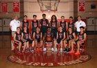 Redlands East Valley Wildcats Boys Varsity Basketball Winter 17-18 team photo.