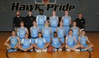 Gila Ridge Hawks Boys Varsity Basketball Winter 17-18 team photo.