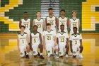 Kentridge Chargers Boys Varsity Basketball Winter 17-18 team photo.
