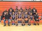 Woodlawn Warriors Boys Varsity Basketball Winter 17-18 team photo.