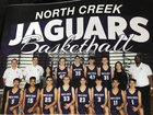 North Creek  Boys Varsity Basketball Winter 17-18 team photo.