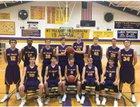 Mt. Pulaski Hilltoppers Boys Varsity Basketball Winter 17-18 team photo.