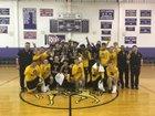 East Windsor Panthers Boys Varsity Basketball Winter 17-18 team photo.