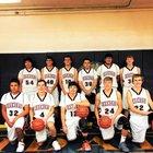 Hoehne Farmers Boys Varsity Basketball Winter 17-18 team photo.