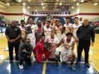 Dominguez Dons Boys Varsity Basketball Winter 17-18 team photo.