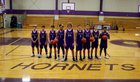 Holland Hornets Boys Varsity Basketball Winter 17-18 team photo.