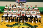 Green River Pirates Boys Varsity Basketball Winter 17-18 team photo.