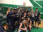 St. John Bosco Braves Boys Varsity Basketball Winter 17-18 team photo.