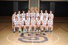 Skyline Eagles Boys Varsity Basketball Winter 17-18 team photo.