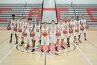 Cornerstone Charter Academy Cardinals Boys Varsity Basketball Winter 17-18 team photo.