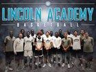 Lincoln Academy Bulldogs Boys Varsity Basketball Winter 17-18 team photo.