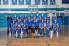 Dexter Demons Boys Varsity Basketball Winter 17-18 team photo.